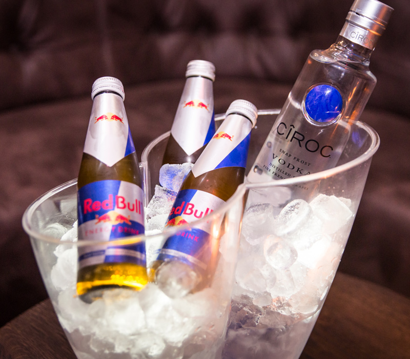 Cîroc met Red Bull